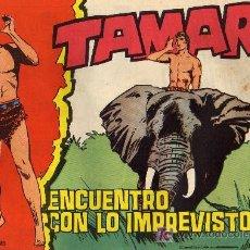 Tebeos: TAMAR - Nº 122 - BORRELL/ACEDO - EDICIONES TORAY 1961 - ORIGINAL, NO FACSIMIL. Lote 11313361