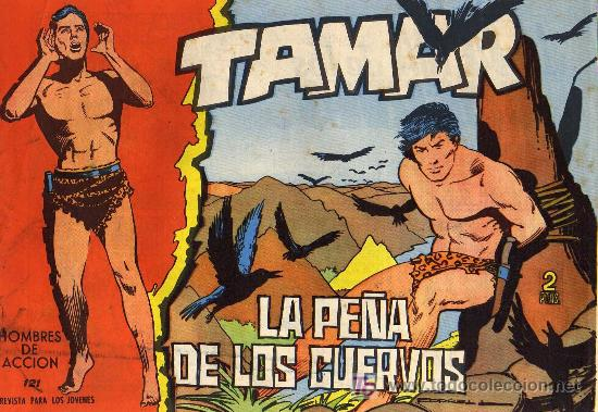 TAMAR - Nº 121 - BORRELL/ACEDO - EDICIONES TORAY 1961 - ORIGINAL, NO FACSIMIL (Tebeos y Comics - Toray - Tamar)
