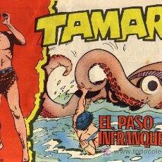 Tebeos: TAMAR - Nº 120 - BORRELL/ACEDO - EDICIONES TORAY 1961 - ORIGINAL, NO FACSIMIL. Lote 11313363
