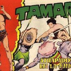 Tebeos: TAMAR - Nº 110 - BORRELL/ACEDO - EDICIONES TORAY 1961 - ORIGINAL, NO FACSIMIL. Lote 11313366