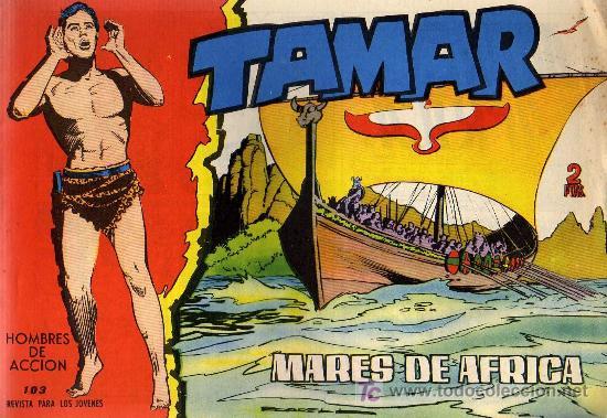 TAMAR - Nº 103 - BORRELL/ACEDO - EDICIONES TORAY 1961 - ORIGINAL, NO FACSIMIL (Tebeos y Comics - Toray - Tamar)