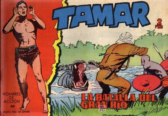 TAMAR - Nº 96 - BORRELL/ACEDO - EDICIONES TORAY 1961 - ORIGINAL, NO FACSIMIL (Tebeos y Comics - Toray - Tamar)