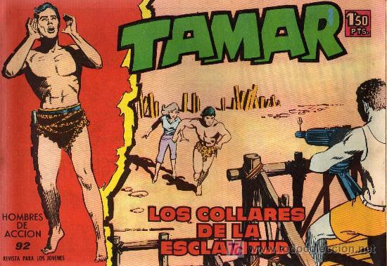 TAMAR - Nº 92 - BORRELL/ACEDO - EDICIONES TORAY 1961 - ORIGINAL, NO FACSIMIL (Tebeos y Comics - Toray - Tamar)
