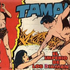Tebeos: TAMAR - Nº 91 - BORRELL/ACEDO - EDICIONES TORAY 1961 - ORIGINAL, NO FACSIMIL. Lote 11313395