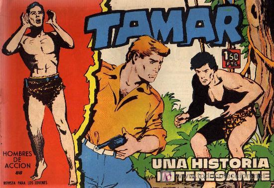 TAMAR - Nº 88 - BORRELL/ACEDO - EDICIONES TORAY 1961 - ORIGINAL, NO FACSIMIL (Tebeos y Comics - Toray - Tamar)