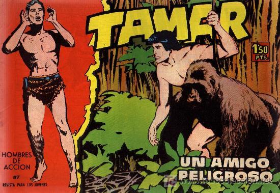 TAMAR - Nº 87 - BORRELL/ACEDO - EDICIONES TORAY 1961 - ORIGINAL, NO FACSIMIL (Tebeos y Comics - Toray - Tamar)