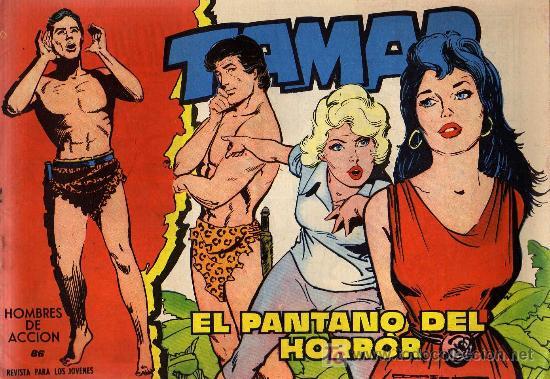 TAMAR - Nº 86 - BORRELL/ACEDO - EDICIONES TORAY 1961 - ORIGINAL, NO FACSIMIL (Tebeos y Comics - Toray - Tamar)