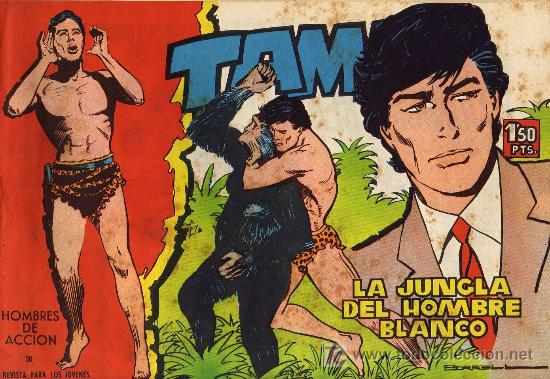 TAMAR - Nº 30 - BORRELL/ACEDO - EDICIONES TORAY 1961 - ORIGINAL, NO FACSIMIL (Tebeos y Comics - Toray - Tamar)