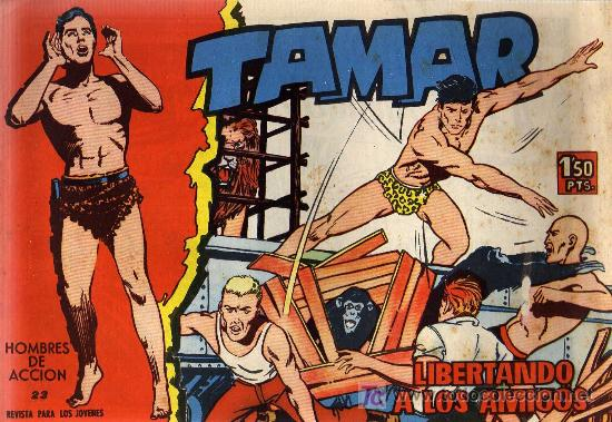 TAMAR - Nº 23 - BORRELL/ACEDO - EDICIONES TORAY 1961 - ORIGINAL, NO FACSIMIL (Tebeos y Comics - Toray - Tamar)