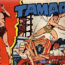 Tebeos: TAMAR - Nº 23 - BORRELL/ACEDO - EDICIONES TORAY 1961 - ORIGINAL, NO FACSIMIL. Lote 11313453