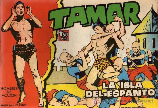 TAMAR - Nº 13 - BORRELL/ACEDO - EDICIONES TORAY 1961 - ORIGINAL, NO FACSIMIL (Tebeos y Comics - Toray - Tamar)