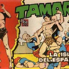 Tebeos: TAMAR - Nº 13 - BORRELL/ACEDO - EDICIONES TORAY 1961 - ORIGINAL, NO FACSIMIL. Lote 11313465