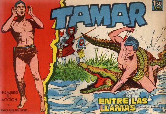 TAMAR - Nº 10 - BORRELL/ACEDO - EDICIONES TORAY 1961 - ORIGINAL, NO FACSIMIL (Tebeos y Comics - Toray - Tamar)