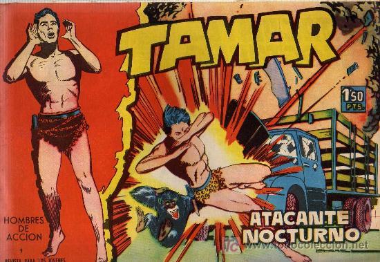 TAMAR - Nº 9 - BORRELL/ACEDO - EDICIONES TORAY 1961 - ORIGINAL, NO FACSIMIL (Tebeos y Comics - Toray - Tamar)