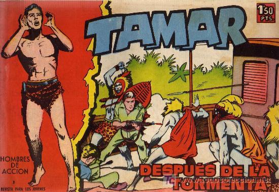 TAMAR - Nº 8 - BORRELL/ACEDO - EDICIONES TORAY 1961 - ORIGINAL, NO FACSIMIL (Tebeos y Comics - Toray - Tamar)