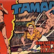 Tebeos: TAMAR - Nº 6 - BORRELL/ACEDO - EDICIONES TORAY 1961 - ORIGINAL, NO FACSIMIL. Lote 11313487