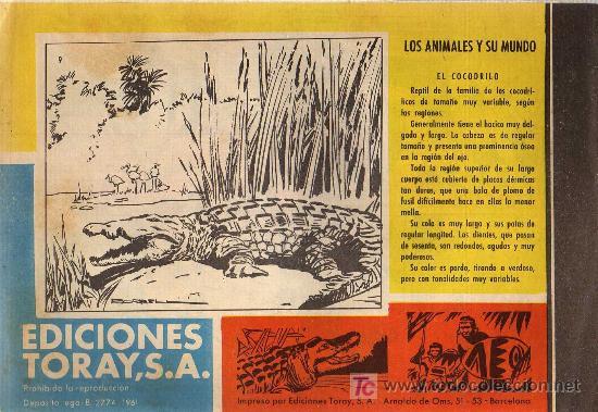 Tebeos: TAMAR - Nº 9 - BORRELL/ACEDO - EDICIONES TORAY 1961 - ORIGINAL, NO FACSIMIL - Foto 2 - 11313472