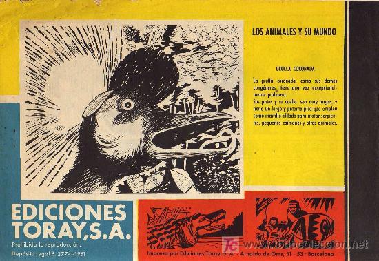 Tebeos: TAMAR - Nº 75 - BORRELL/ACEDO - EDICIONES TORAY 1961 - ORIGINAL, NO FACSIMIL - Foto 2 - 11313420