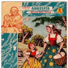 Tebeos: CUENTOS DE LA ABUELITA Nº 188, EDICIONES TORAY. Lote 11336822
