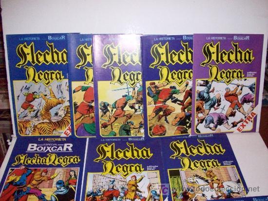 FLECHA NEGRA, COMPLETA - EXCELENTE ESTADO (Tebeos y Comics - Toray - Flecha Negra)