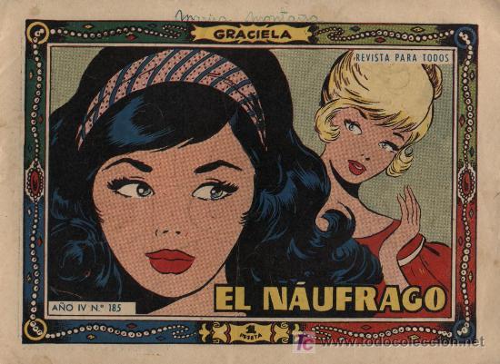 GRACIELA. Nº 185 (Tebeos y Comics - Toray - Graciela)