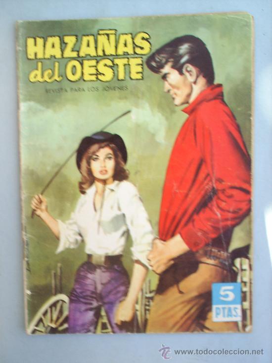 HAZAÑAS DEL OESTE-N.66 -1959 EDICIONES TORAY (Tebeos y Comics - Toray - Hazañas del Oeste)