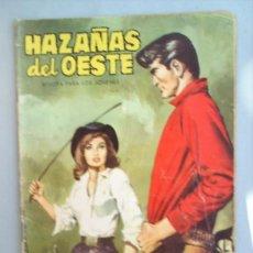 Tebeos: HAZAÑAS DEL OESTE-N.66 -1959 EDICIONES TORAY. Lote 17127834