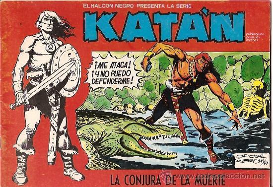 KATÁN Nº 8 URSUS 1980 (Tebeos y Comics - Toray - Katan)