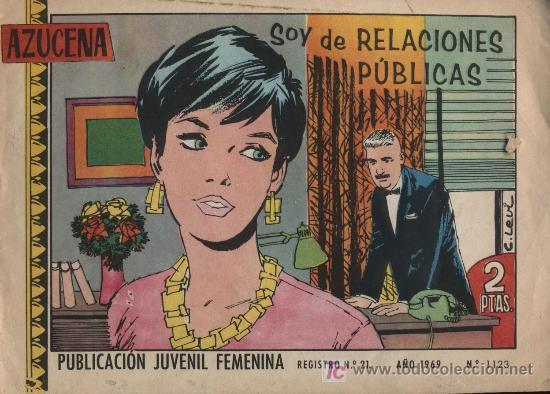 AZUCENA. Nº 1123 (Tebeos y Comics - Toray - Azucena)