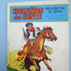 Tebeos: HAZAÑAS DEL OESTE-N.213-1970-TORAY. Lote 11841671