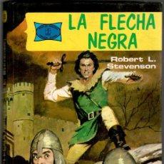 Tebeos: NOVELAS FAMOSAS Nº 5, LA FLECHA NEGRA, 200 PGS, UNAS 70 EN VIÑETAS, VER IMAGENES. Lote 141202761