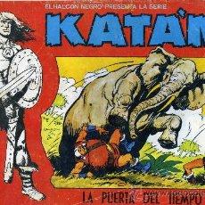 Tebeos: KATAN - EL HALCON NEGRO - URSUS ED. 1980. Lote 12144931