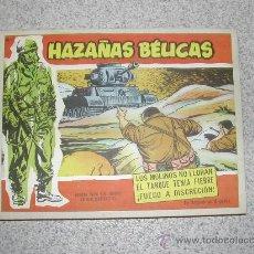 Tebeos: HAZAÑAS BELICAS EXTRA ROJO GORILA JOHNNY COMANDO TORAY TOMO EDITORIAL CON OCHO NºS . Lote 25726384
