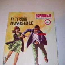Tebeos: EDICIONES TORAY. ESPIONAJE (1.967), Nº 70. Lote 12343523