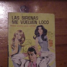Tebeos: LAS SIRENAS ME VUELVEN LOCO. SALOME Nº 186. FOTO DE ANTHONY FRANCIOSA EN CONTRAPORTADA. TORAY 1966.. Lote 12293848
