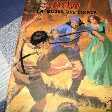 Tebeos: SANDOKAN, LA MUJER DEL PIRATA, EDICINES TORAY, EMILIO SALGARI,1977. Lote 12383925