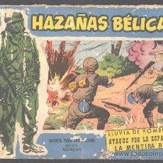 Tebeos: HAZAÑAS BELICAS REVISTA PARA LOS JOVENES DIBUJOS BOIXCAR LLUVIA DE HOMBRES 1940. Lote 12584757