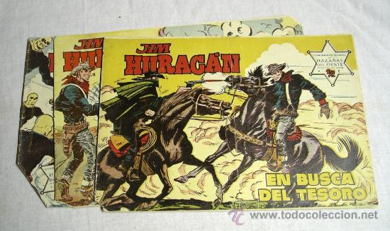 Tebeos: Jim Huracan nº 6, 7, 8, 16, 17 y 36 año 59 Ediciones Toray - Foto 2 - 26287557
