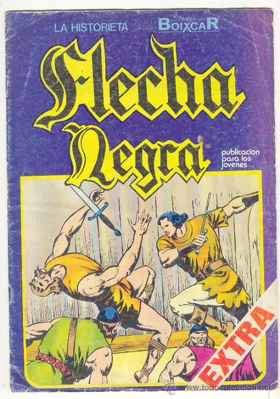 FLECHA NEGRA BOIXCAR EXTRA Nº 6 (Tebeos y Comics - Toray - Flecha Negra)