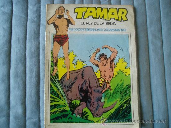 TAMAR LOTE DE 20 NUMEROS SE VENDEN SUELTOS A 4€ (Tebeos y Comics - Toray - Tamar)