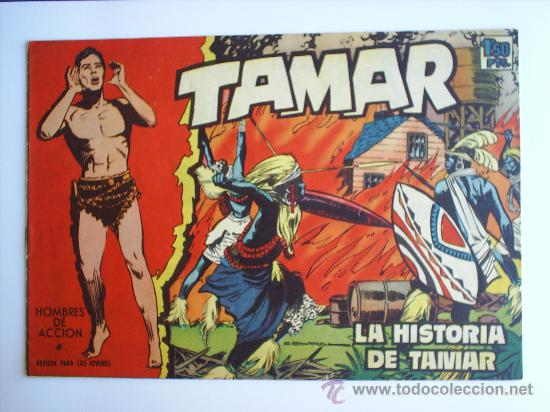 TAMAR N.4-EDICIONES TORAY-1961 (Tebeos y Comics - Toray - Tamar)