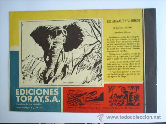 Tebeos: TAMAR N.4-EDICIONES TORAY-1961 - Foto 2 - 13731846