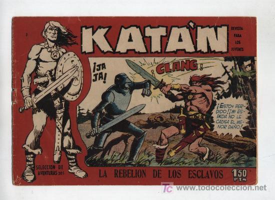 KATÁN .TORAY 1958. Nº 2 (Tebeos y Comics - Toray - Katan)