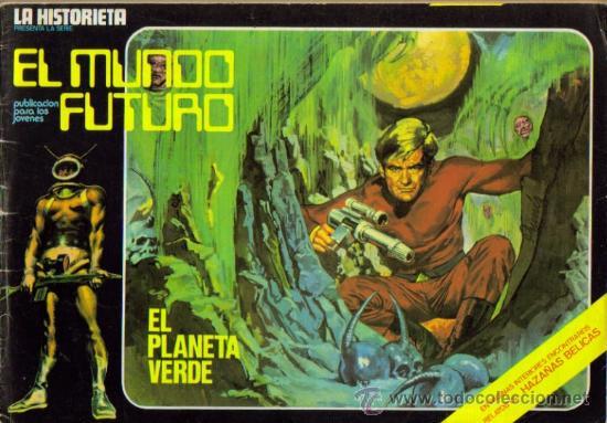 LA HISTORIETA PRESENTA LA SERIE EL MUNDO FUTURO ( URSUS ) ORIGINAL 1973 LOTE (Tebeos y Comics - Toray - Mundo Futuro)