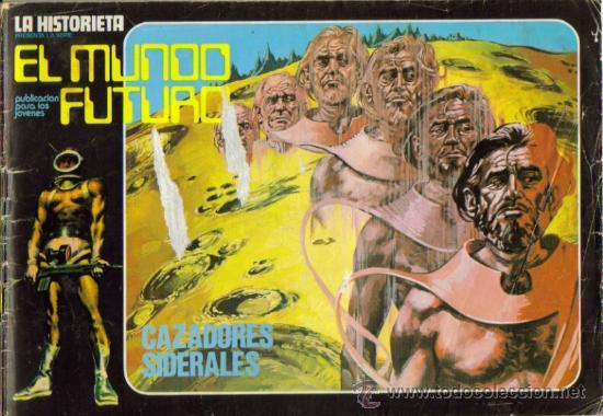 Tebeos: LA HISTORIETA PRESENTA LA SERIE EL MUNDO FUTURO ( URSUS ) ORIGINAL 1973 LOTE - Foto 2 - 26924353