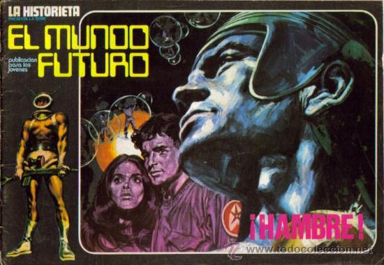 Tebeos: LA HISTORIETA PRESENTA LA SERIE EL MUNDO FUTURO ( URSUS ) ORIGINAL 1973 LOTE - Foto 3 - 26924353