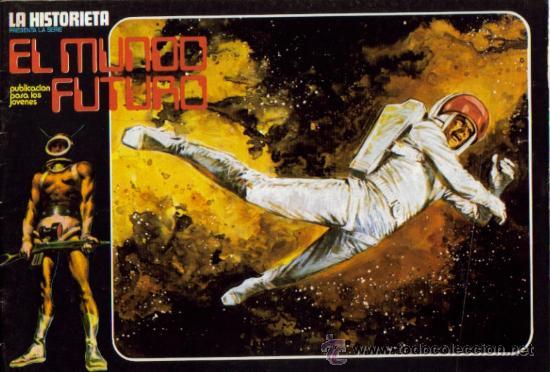 Tebeos: LA HISTORIETA PRESENTA LA SERIE EL MUNDO FUTURO ( URSUS ) ORIGINAL 1973 LOTE - Foto 4 - 26924353