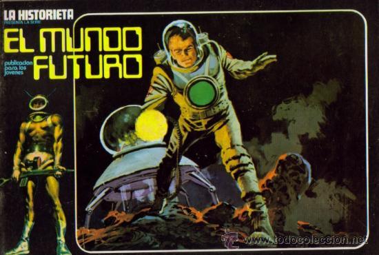 Tebeos: LA HISTORIETA PRESENTA LA SERIE EL MUNDO FUTURO ( URSUS ) ORIGINAL 1973 LOTE - Foto 5 - 26924353