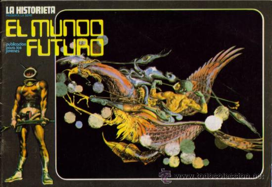 Tebeos: LA HISTORIETA PRESENTA LA SERIE EL MUNDO FUTURO ( URSUS ) ORIGINAL 1973 LOTE - Foto 7 - 26924353