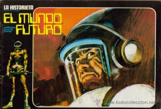 Tebeos: LA HISTORIETA PRESENTA LA SERIE EL MUNDO FUTURO ( URSUS ) ORIGINAL 1973 LOTE - Foto 8 - 26924353